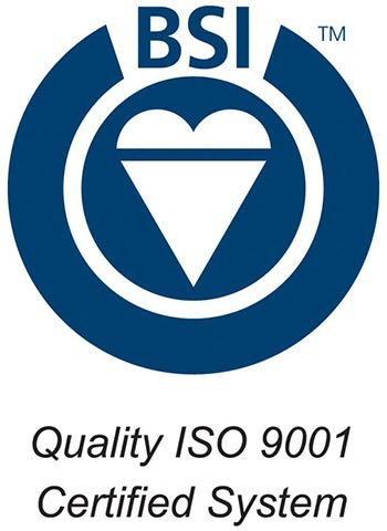 BSI Quality ISO 9001 Certified System